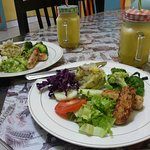 healthy food of kualanamu Gueshouse