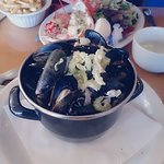 Mussels & Lobster + Chips!