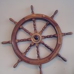 Wheel of the Ship on the Wall!