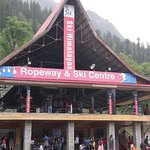 Rope way and Ski centre