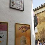 Signboard for Calleja de las Flores