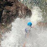 Climbing the last waterfall