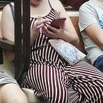 Señoras que no ceden su asiento a embarazadas