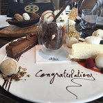 Desserts at The Oblix