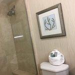 Snug bathroom