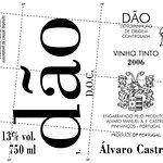 Portugal Dao Álvaro Castro.