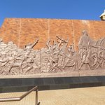 National Heroes Acre: bronze frieze