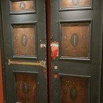 Old theatre doors