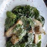 Chicken Caesar salad (with anchovies)