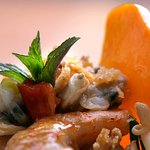 Kornati stew with rockfish, shrimp and vongola clams
