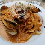 Seafood Pasta......was GREAT!
