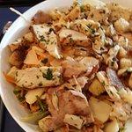 Salade composée poulet-légumes