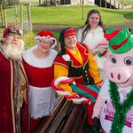 Visit our Winter Wonderland to meet Santa, Mrs Claus and of course the cheeky Head Elf