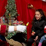 Visit Santa in his grotto during Winter Wonderland