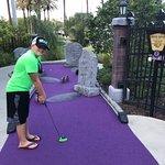 Mini golf fun
