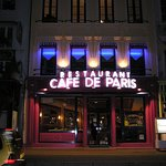 The Café de Paris by night
