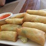 tiny thai spring rolls