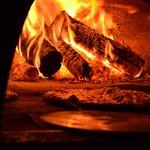 Forno na Temperatura ideal para a Melhor Pizza de Brasília !