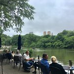 peaceful boating lake