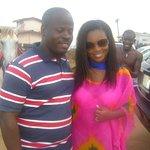 with popular Ghanaian actress, jackie Appiah.