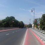 The bridge over the Warta River