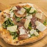 Crudo and Rucola Pizza
