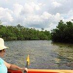 Kayaking the intercoastal water way, Freeport, The Bahamas