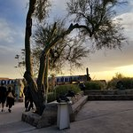 Taliesin West tour late afternoon, November 2017--pleasanter temperatures