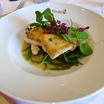Halibut on samphire