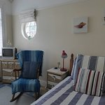Single adjoining bedroom with views up to The Great Orme. Bookable with the double as twin or tr