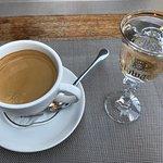 Espresso og goldwasser
