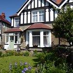 The front garden at Lymehurst B&B