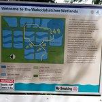 diagram of the Wakodahatchee Wetlands