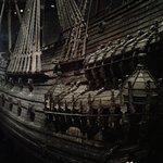 Vasa inside the building