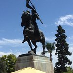 El Cid statue ......... why here?