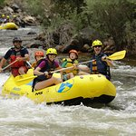Rafting on the Poudre River