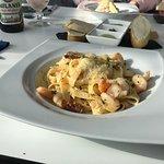 Shrimp & Chorizo pasta