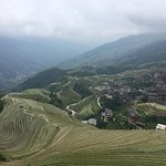 Long Sheng rice terrace in Guilin. The hike up was 1hr long. It was so beautiful!