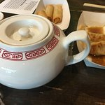 Green tea with our Dim Sum