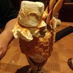 S'mores shake. Enough to share!