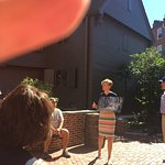 Our guide at The Paul Revere House