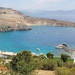 Lindos widok z Acropolu
