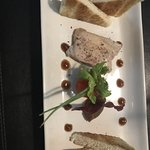 homemade foie gras is very good