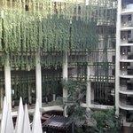 Pirámide Central , un oasis dentro del hotel