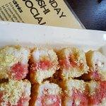 French toast breakfast sushi