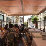Mesa agradável no Cordon Bleu, Reggio Calabria