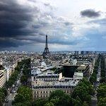 De Arc de Triomphe (Triomfboog) Foto