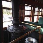 Stove in Train Car
