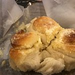 Rolls to die for - topped with parmesan