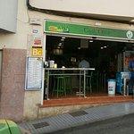 The entrance of Casa Oliva